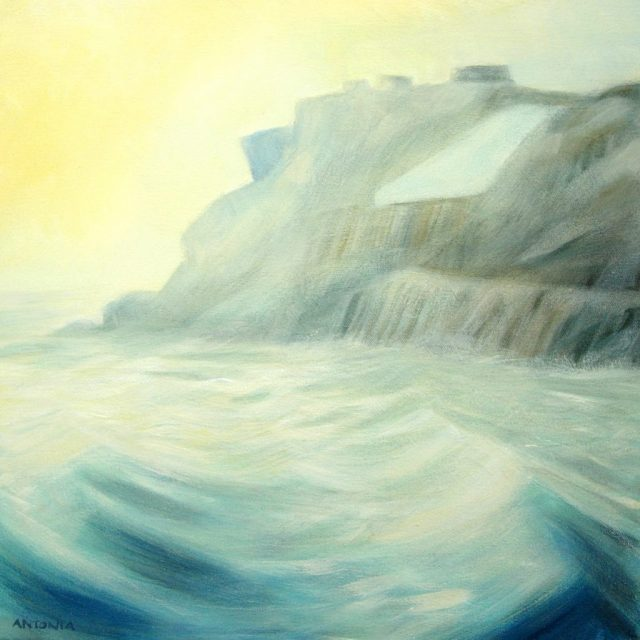 jurassic coast series - sea swell by st aldhelms