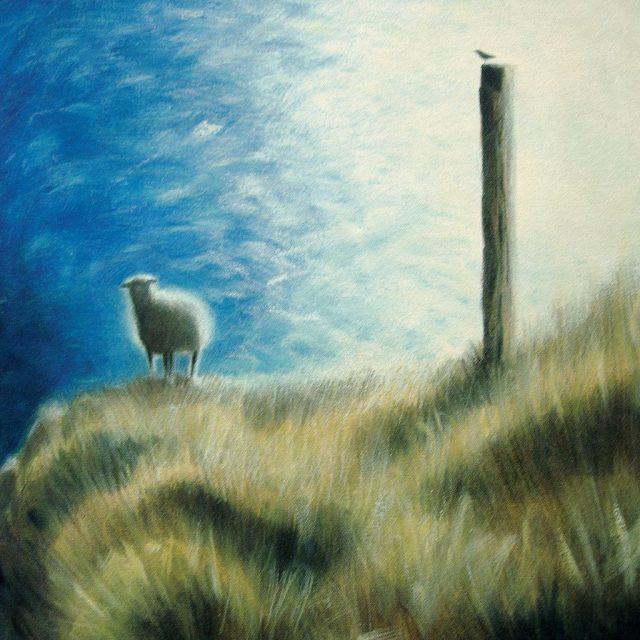 jurassic coast series - steep sheep and crow, dancing ledge