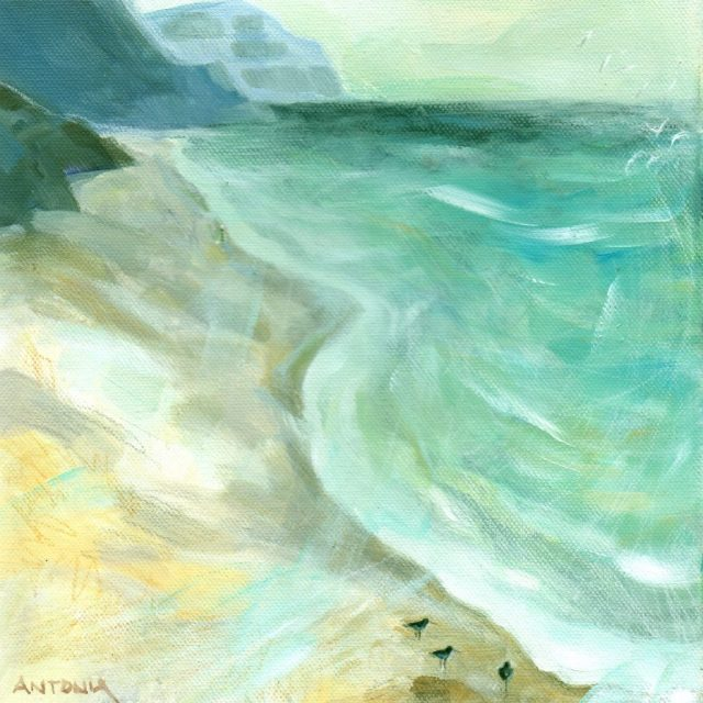 east from charmouth - art2card